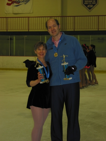 Barb and Craig at 2005 ISI District 1 Championships